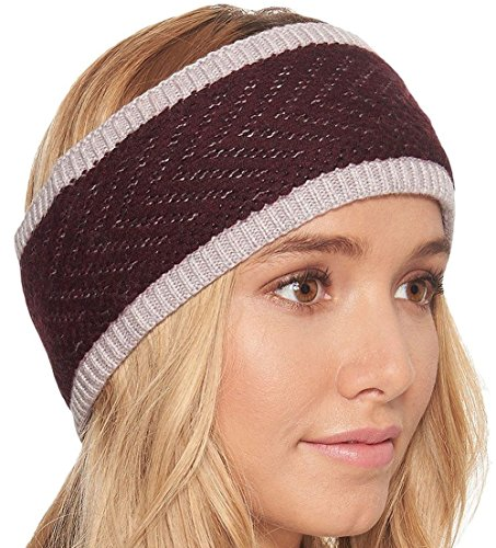 UGG Women's Chevron Lined Headband Starlight Heather Multi One Size