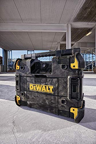 DEWALT TSTAK Jobsite Radio Battery Charger, Bluetooth DWST17510