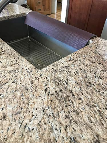 Brown Kitchen Sink Guard Kitchen Granite Protector Sink Edge Guard Protects Edge From Chipping Copyright 2017 Tm 4 13 5 In Width X 23 In Length Amazon Com