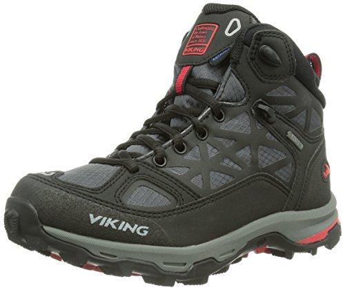 amp; Schwarz Viking Red Erwachsene Ascent 210 Black GTX Trekking Unisex Wanderschuhe UrwUX0q