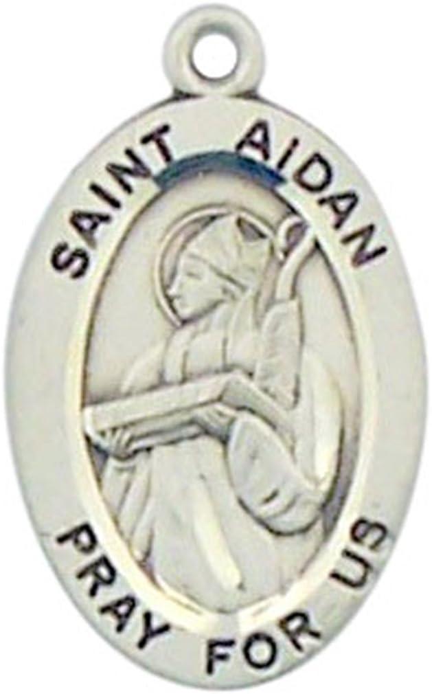 Sterling Patron Saint Emily Medal