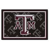 FANMATS NCAA Texas A&M University Aggies Nylon Face 5X8 Plush Rug