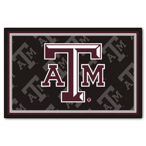 Price comparison product image FANMATS NCAA Texas A&M University Aggies Nylon Face 5X8 Plush Rug