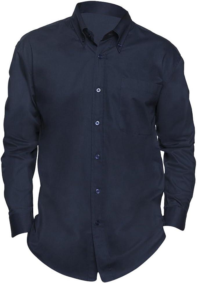 SOLS - Camisa de Manga Larga para Trabajar Modelo Bel-Air Hombre Caballero - Trabajo/Fiesta/Verano: Amazon.es: Ropa y accesorios