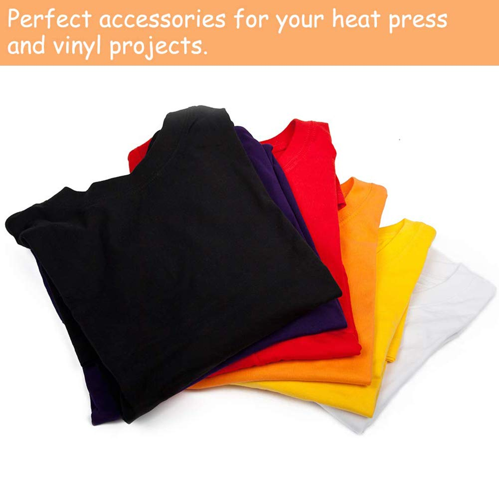 Reusable Heat Resistant for Heat Press Tranfer Printing Pad Tool 10x10 inches Pillow Made of Teflon Studyset Heat Press Pillow Heat Pressing Transfer Pillow