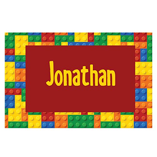 Building Blocks Personalized Placemat