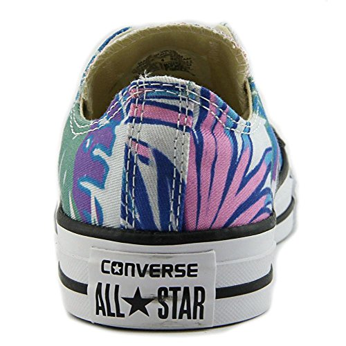 All OX Top Stars Trainers Cyan Converse Low Print Chuck Taylor Mens Magenta Fresh Canvas White Tropical qwwFt0z