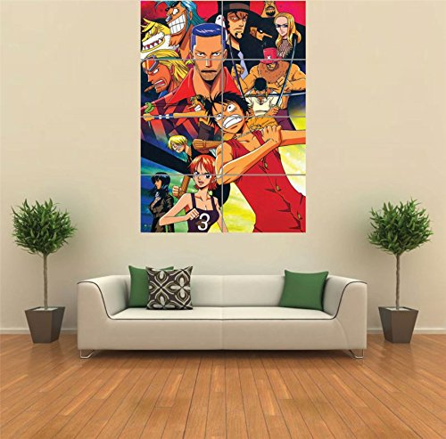 ONE PIECE ANIME MANGA NEW GIANT POSTER WALL ART UNIQUE PRINT PICTURE - Piece Photo One