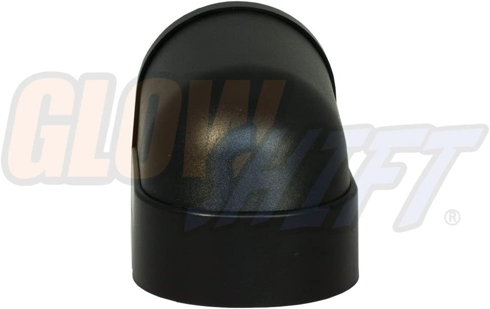 GlowShift Universal Black Single Gauge Console Dashboard Pod Mounts 52mm 2-1//16 Gauge to Vehicles Dash ABS Plastic 1 Fits Any Make//Model