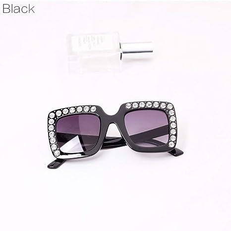 Yangjing-hl Rhinestone Gafas de Sol para niños Gafas de Sol ...