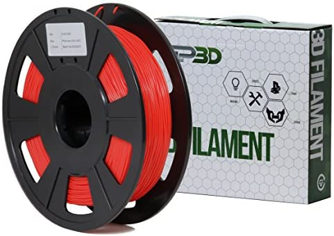 gp3d Flexible 3d impresora filamento rojo color - 1,5 kg 1,75 mm ...
