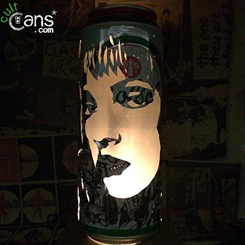 Uma Thurman Pulp Fiction Beer Can Lantern Pop Art Candle Lamp Unique