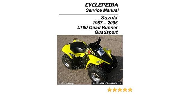 CPP-167-P Suzuki LT80 Quadsport, Kawasaki KFX80 Cyclepedia