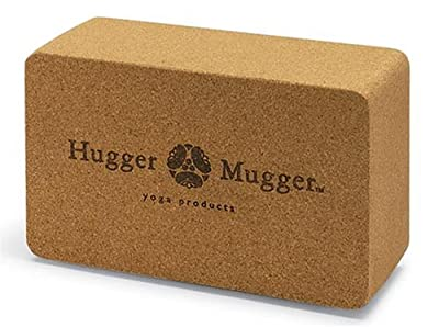 Hugger Mugger Cork Yoga Block from Hugger Mugger