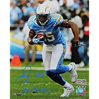 $74 » Antonio Gates Signed Autographed San Diego Chargers 8x10 Photo Inscribed 8x Pro Bowl TRISTAR