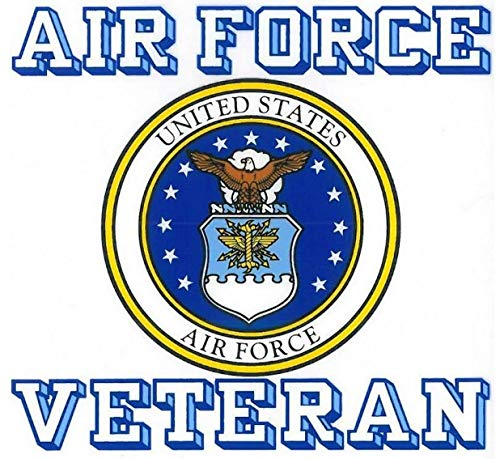 Force Window Air Us - United States Air Force Veteran Car Decal US Military Gifts USAF Products