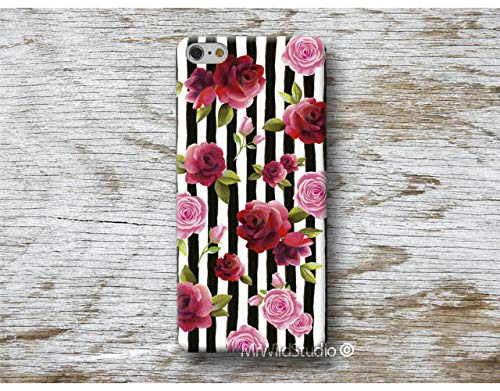 Amazon com: roses stripes cover Phone Case for Huawei P20 Pro P10