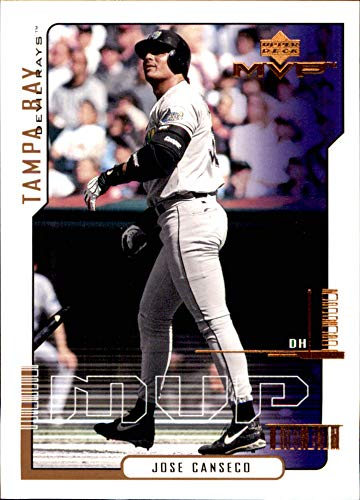 - JOSE CANSECO TAMPA BAY DEVIL RAYS 2000 UD MVP #79 (Box178)