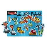 Melissa & Doug 8pc Sound Puzzle - Construction