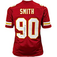 $103 » Neil Smith Autographed Jersey - Pro Edition Red) - JSA Certified - Autographed NFL Jerseys