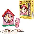 $22.94(原价 $29.99)+ 包邮 手表可运行 LEGO 时间导师系列女孩手表/建筑钟/游戏卡片套装 9005039