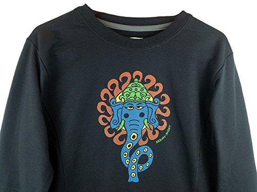 Elefant Damen Sweatshirt Anvil von Seban-Shirt