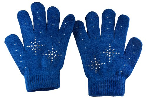 Fashion Every Day Girls Ice Skating Gloves / Magic Stretc...