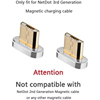 Agregue el Conector Micro USB Compatible con el Cable magnético NetDot Gen3 (Conectores Micro USB/sin Cable)
