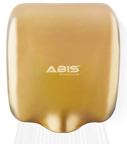 ABIS Secador de Manos Alta Velocidad eléctrica automática Comercial de Acero Inoxidable para Servicio Pesado