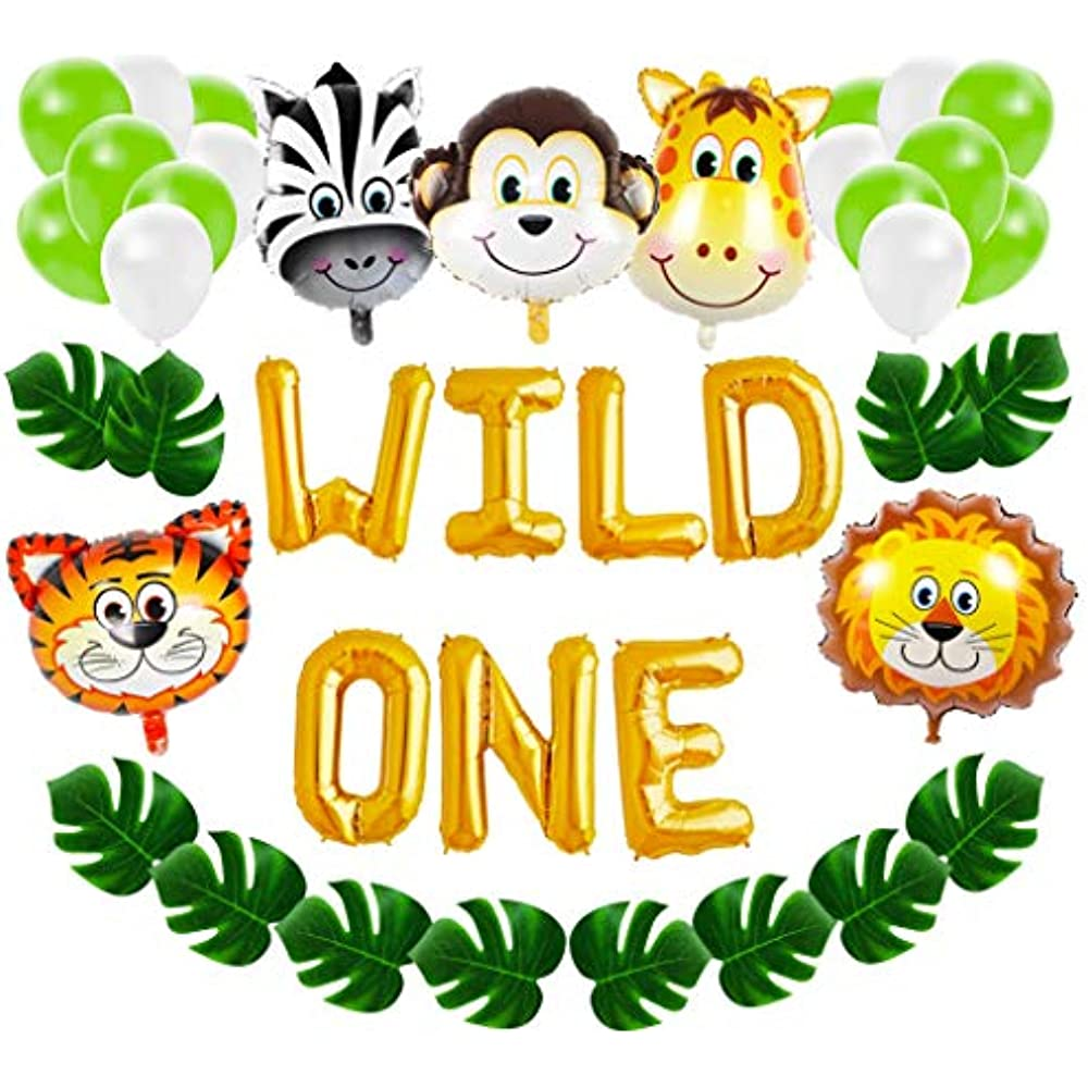 Details About Wild One First Birthday Balloon Decoration Kit 1st Boy Girl Theme Bday Party