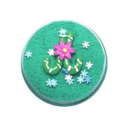 FONMA 100ML Christmas Slime Scented Charm Mud Stress Relief Kids Clay Toys Xmas D]()