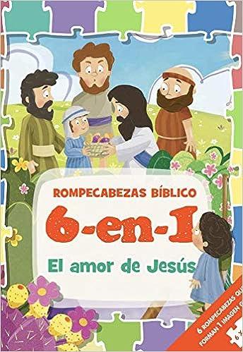 ROMPECABEZAS BIBLICO 6 EN 1 AMOR DE JESU