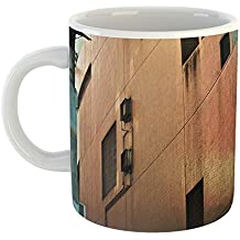 Westlake Art - Building Stairway - 11oz Coffee Cup Mug - Modern Picture Photography Artwork Home Office Birthday Gift - 11 Ounce (AB5F-E7672)