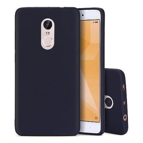 Funda Xiaomi Redmi Note 4 Silicona Carcasa Suave Flexible TPU Ultra Fina Delgado Anti Golpes Choque Case Móvil Candy Color Cubierta Protectora Caja ...