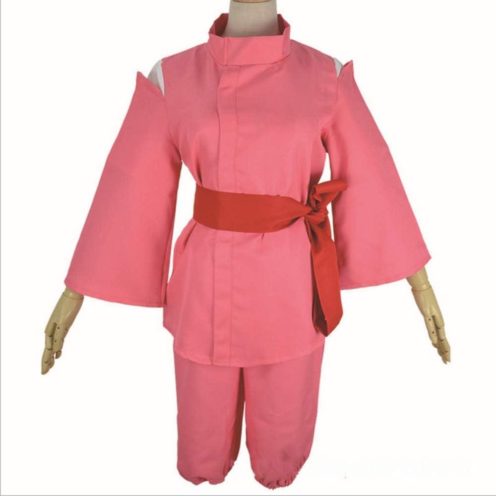 Amazon Com Vorwind Women S Spirited Away Cosplay Chihiro Ogino Kimono Size X Large Red Clothing
