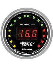 "Auto Meter 3379 Sport-Comp 2-1/16"" Wide Band Street Air/Fuel Gauge"