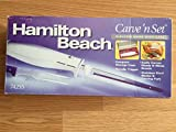 Hamilton Beach Carve n Set Electric Knife with case 74255 (Small Image)