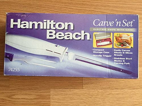 Hamilton Beach Carve n Set Electric Knife with case 74255 Deal (Large Image)