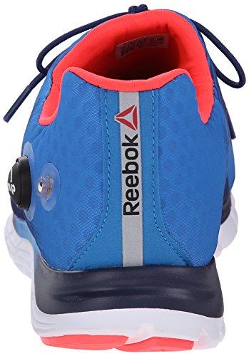 Reebok Mens Z-Pump Fusion Running Shoe Cycle Blue/Club Blue/Neon Cherry/White C4bJyqfI