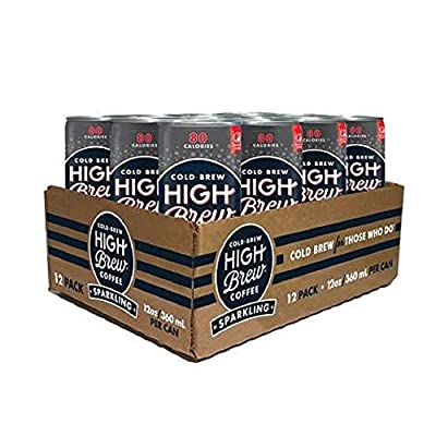 High Brew Sparkling Cold Brew Coffee,