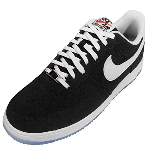 Nike Lunar Force 1 14 Mens Tränare 654256 Gymnastikskor Svart Vit 005