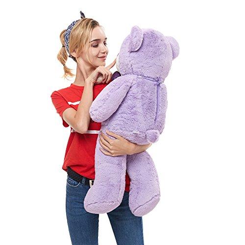 MaoGoLan 31 inch Teddy Bear Stuffed Animals Plush Purple for Girls -