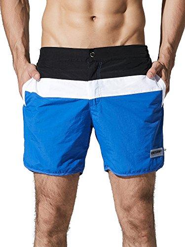 Neleus Men's Dry Fit Swimming Trunks Long Beach Boardshorts