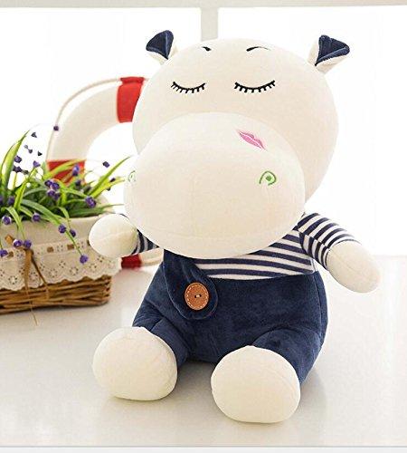 Driverder Íntimo y Suave Juguetes de Felpa Suaves Lindos de los 45cm muñecos de Felpa de los Animales Rellenos para los niños (Azul Marino)