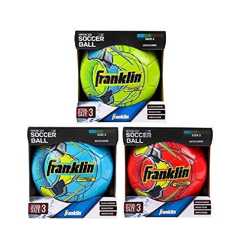 Franklin Ms3 Brite F2000 Neon Soccer Ball by Bargain World