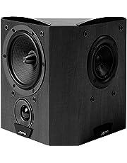"C60SURB JAMO 6"" Concert Series Dipole Surround Speaker - Black Mid Range Phase Diffusion (MPD) Mid Range Phase Diffusion (MPD), Decoupled Tweeter Technology (Dtt)"