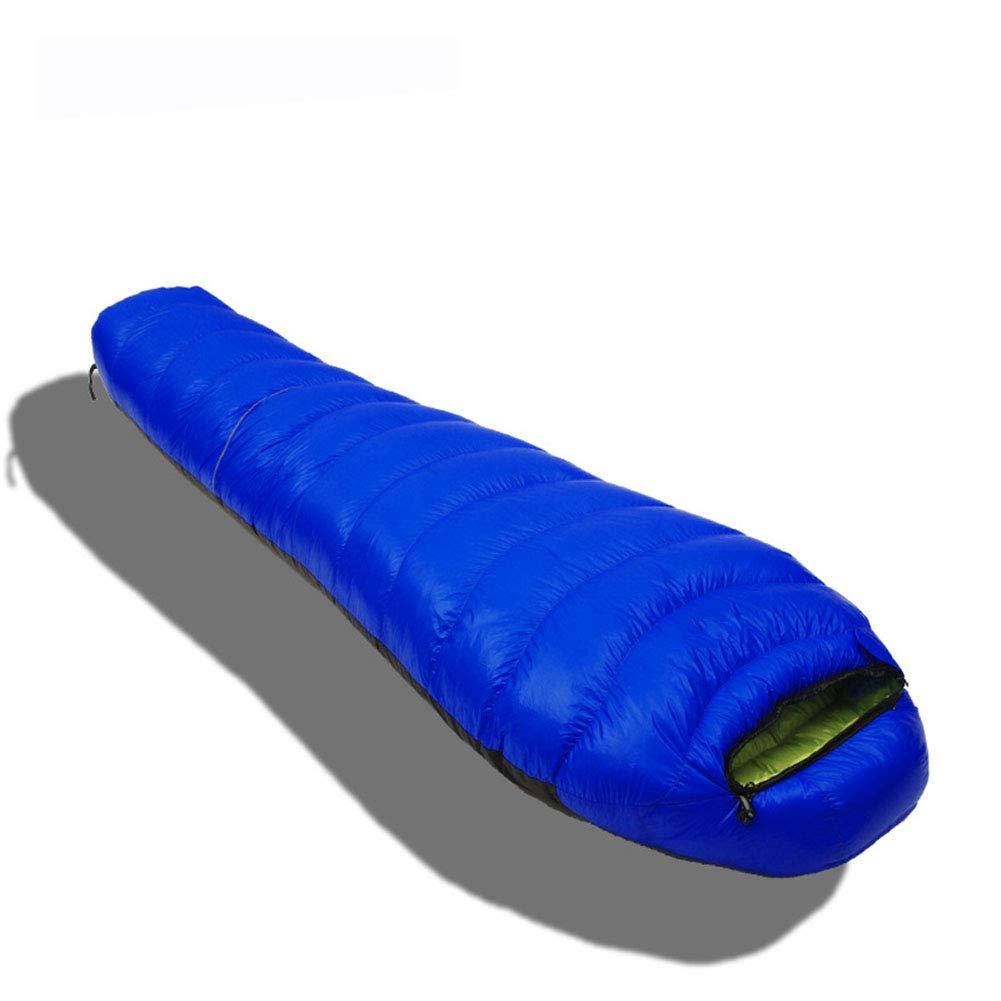 スリーピングバッグ、ミイラ暖かい睡眠バッグ軽量防水スリーピングパッド快適なポータブル大人睡眠サック屋外キャンプエクストリーム遠征のための素晴らしい,blue,1000g B07MZP3NMF blue 600g 600g|blue