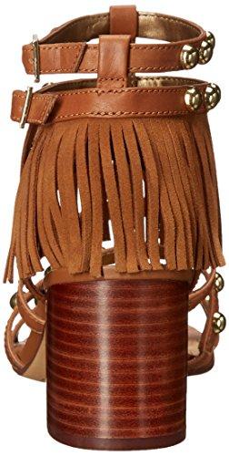 Sandalia Sam Edelman Shaelynn en gamuza marrón cuero Tostado