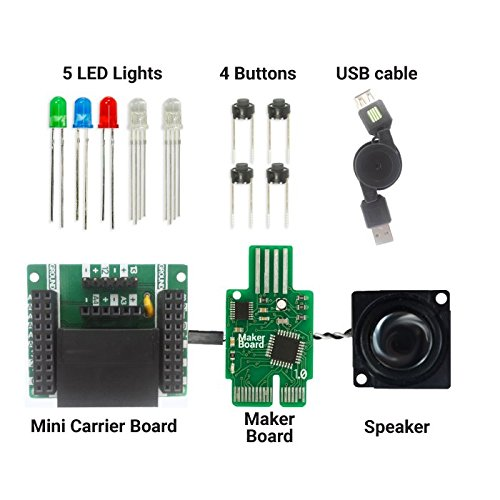 Bundle: Base Kit + Car + Rocket + Piano + Speaker | Coding Kits for Kids 8-12 | Bundle and Save! by Let's Start Coding (Image #6)
