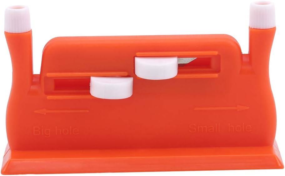 Orange Flybloom Enfile-Aiguille Automatique Insertion dinsertion de Point Machine /à Coudre /à la Main Fil Outil de Couture Accessoires